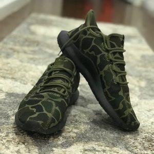 Camo Adidas Tubular Sneakers